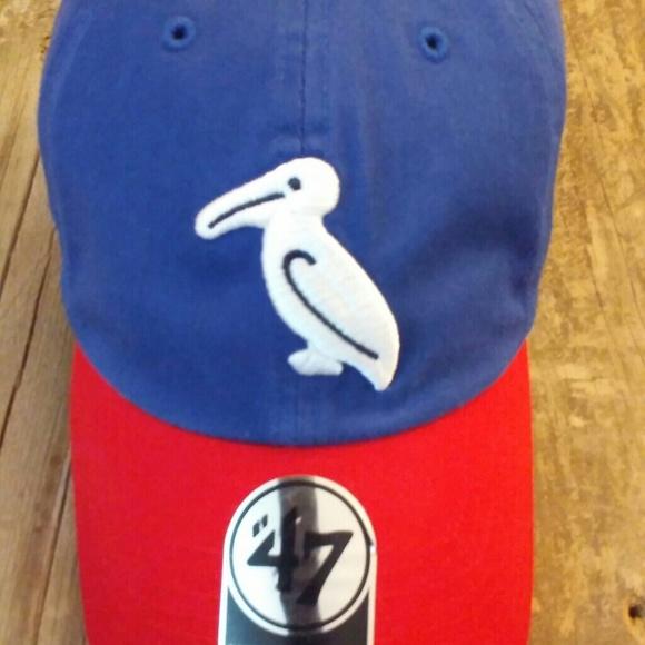 New Orleans Pelicans 1942 Retro Milb 47 Brand Hat Nwt
